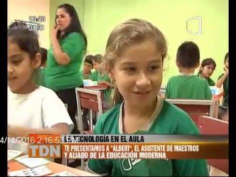 Albert, el robot que enseña en Paraguay 14/04/2016