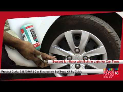 Homeshop18.com - Coido 10 Pc Car Emergency Self Help Kit
