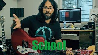 School Guitar Lesson
