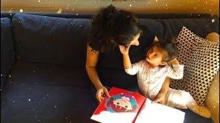 23 aylık kızımla kitap incelememiz | Video çekememe sebebim :)