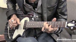 NAMM '16 - Collings Guitars 360 LTM Ash Demo