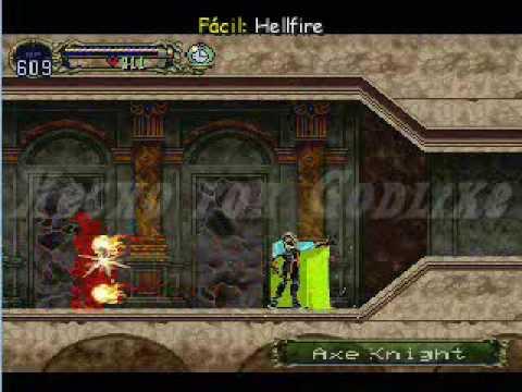 Castlevania: SOTN - Movimientos Y Magias