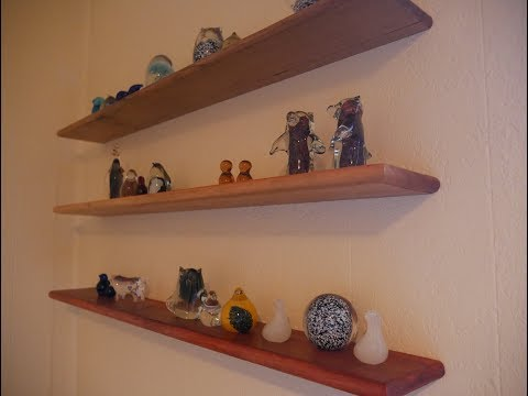 Make DIY Floating Shelves with No Special Hardware!
