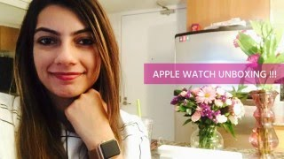 UNBOXING & FULL REVIEW  - APPLE WATCH (38mm Rose Gold)