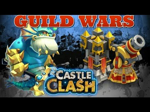 Castle Clash Guild Wars Secret Weapon Vs Troops!