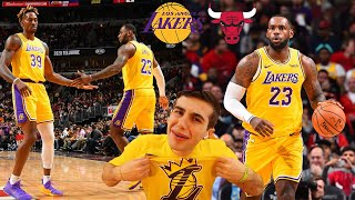 LAKERS FAN REACTS TO LAKERS VS BULLS!! 19 POINT COMEBACK.. THE BEST TEAM IN BASKETBALL