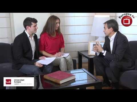 Entrevista a Jose Luis Rodríguez Zapatero en Europea Media