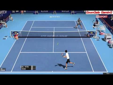 Juan Martin Del Potro - Robin Haase | 1st Round Swiss Indoors Basel 2016 TE 2013 Simulation