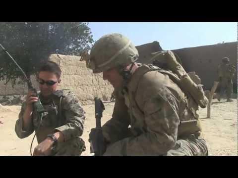 COMBAT FOOTAGE Marines in firefight beat Taliban ambush with 60mm Mortar Fire