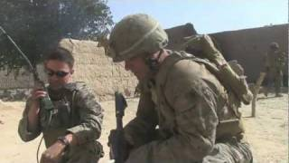 COMBAT FOOTAGE Marines in firefight beat Taliban ambush with 60mm Mortar Fire