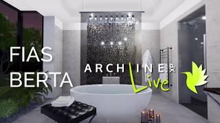 Bathroom visuals by Berta Fias- ARCHLineXP LIVE