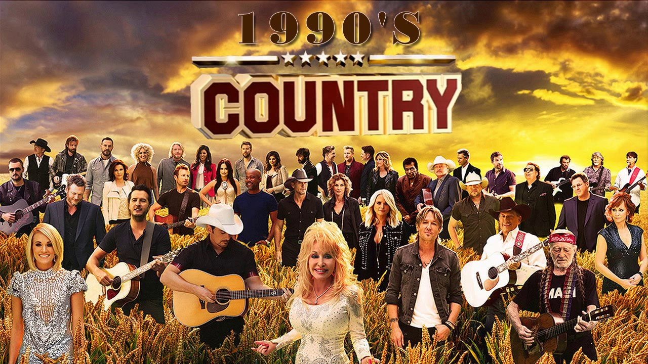 Best classic country songs of 90s greatest 90s country for Classic 90 s house music playlist