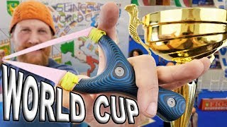 2019 Slingshot World Cup Warm Up With The 2018 World Cup Slingshot (Trick Shot Tuesday S-02 E-01)