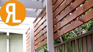 Gambar cover How To Make A Simple Outdoor Screen