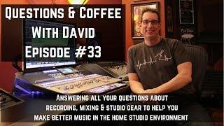 Home Recording Studio Tips Episode #33   www.HomeRecordingMadeEasy.com