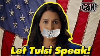 Download Let Tulsi Speak! CNN Excludes Gabbard From Town Hall #tulsi2020 #LetTulsiSpeak #CNNTownHall Mp3 and Videos