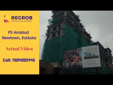 ps-amistad-by-ps-group-|-☎️7604092445-|-2/3-bhk-flats-at-newtown-kolkata-|-actual-video