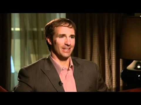 "Interview With Drew Brees - Sports Illustrated ""SPORTSMAN OF THE YEAR"""