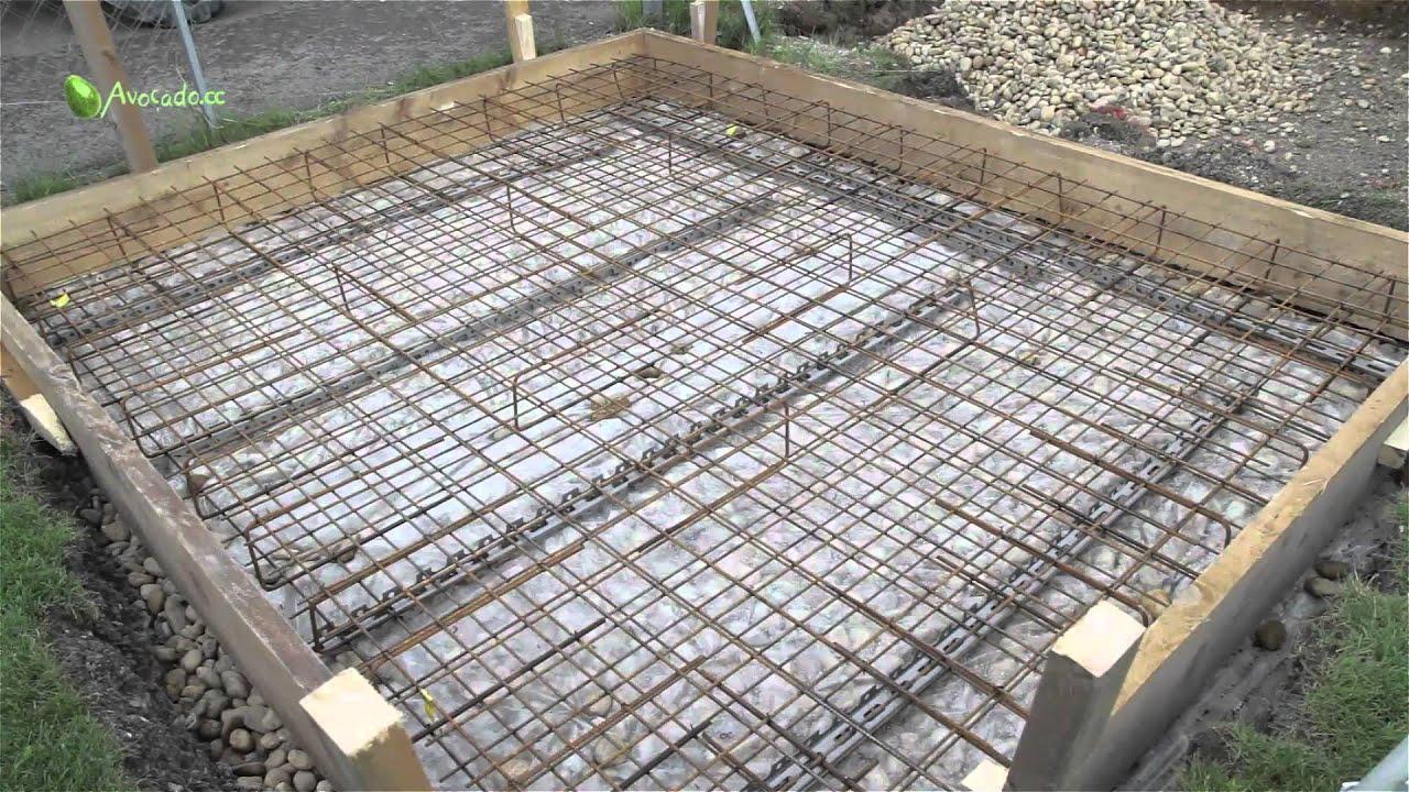 pool selber bauen beton youtube verlegung der unterzugbalken holzterrasse pinterest. Black Bedroom Furniture Sets. Home Design Ideas