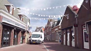 Spaziergang in Ommen durch die Stadt in der Niederlande