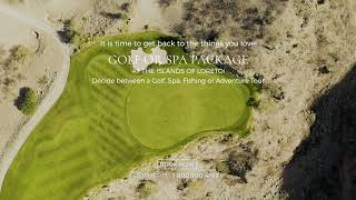 Golf or Spa Package at the Islands of Loreto, Mexico