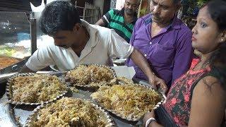 500 Plates Mutton Biryani Finished an Hour - 200 rs Full & Half 130 rs -  Famous Kolkata Biryani