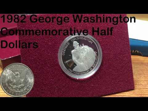 1982 George Washington Commemorative Half Dollars