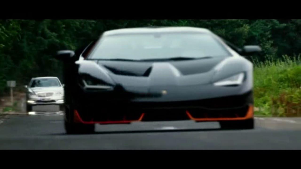 Une Lamborghini Centenario Sur Transformers 5 Youtube