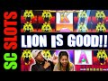 Who Said LION Is Bad??? 100 LIONS Slot Machine BIG WIN ...