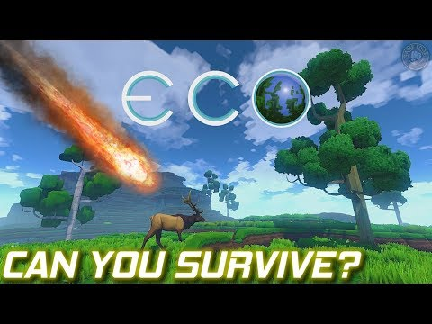 Meteor Survival | ECO Gameplay | EP1
