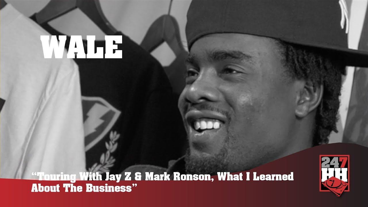 Wale - Touring With Jay Z & Mark Ronson, What I Learned About The Business (247HH Archives)