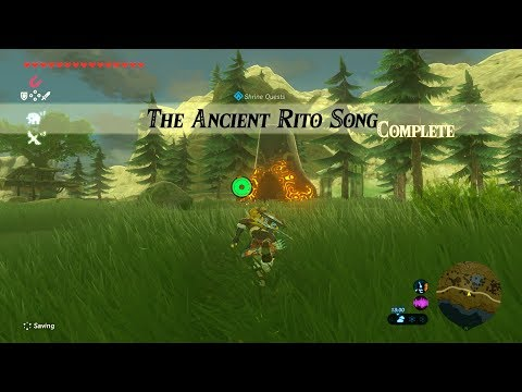 Zelda: BOTW - 84/120 (Ancient Rito Song // Bareeda Naag Shrine) Tabantha Tower Region
