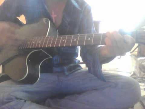 bekarar lucky ali song on guitar