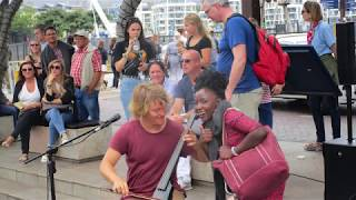 Trip to South Africa,' Reinhardt Buhr  at the V&A Waterfront, Cape Town, South Africa Dec 2018