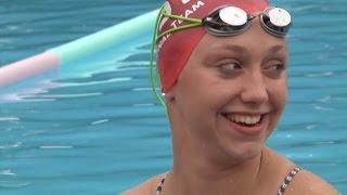 LHS Swimmer Olivia Schmelzer