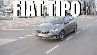 Fiat Tipo 1.6 Multijet Lounge (ENG) - Test Drive and Review