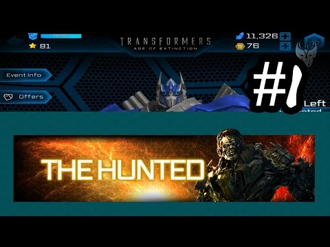 Transformers: Age of Extinction - The Hunted Event Part 1