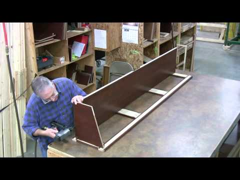 """""""Cabinet Construction""""  Inside Thor brought to you by Total Value RV Dot Com Elkhart Indiana"""