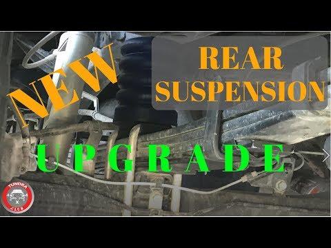 Tundra rear suspension upgrade