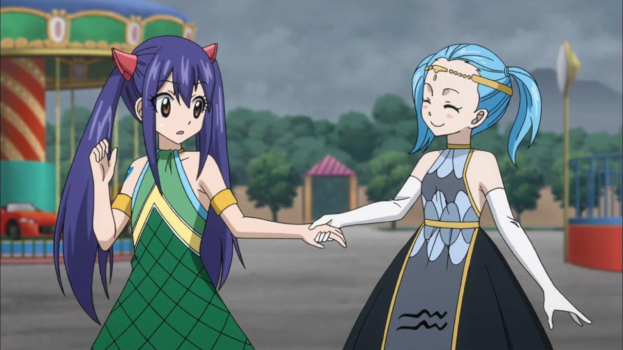 Fairy Tail Series 2 Episode 34 -209- Anime Review Wendy Vs ...  Anime Aquarius