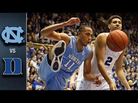 North Carolina vs. Duke Basketball Highlights (2015-16)