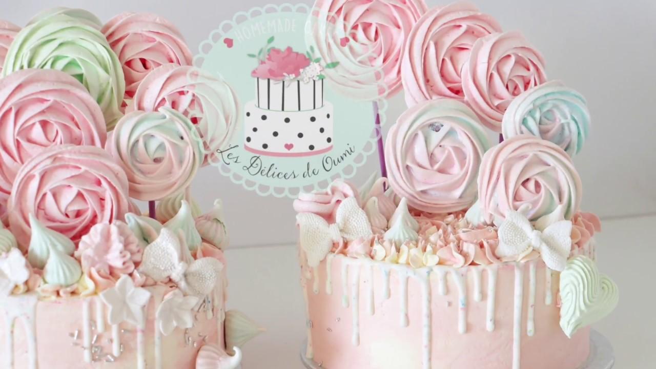 Sucettes en meringues française croquantes et fondantes idéales pour  décorer vos layer cake
