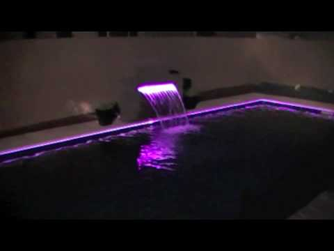 Fiber Optic Pool Lighting Cool Technique To Light Your
