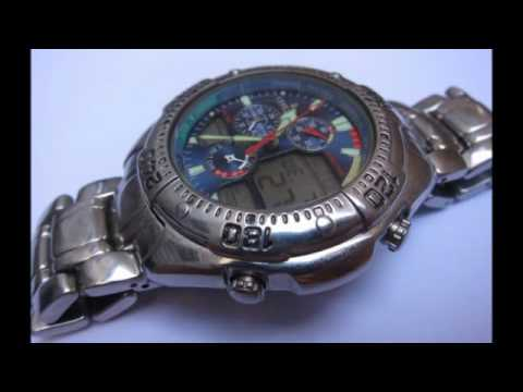 9c72419666b Relogio Citizen NAVISURF C320 USA - YouTube