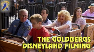 Cast of ABC39s quotThe Goldbergsquot taping scenes for Vacation episode at Disneyland