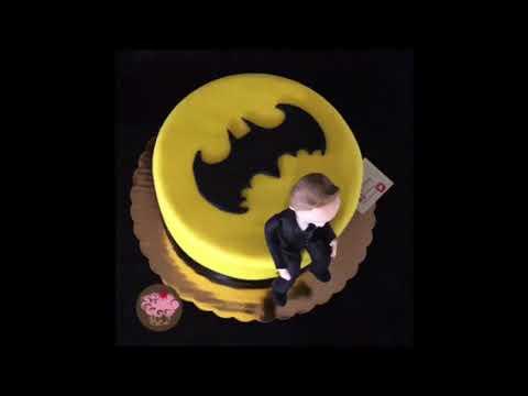 Pastel Cup????Cakelicious personalizado #Batman