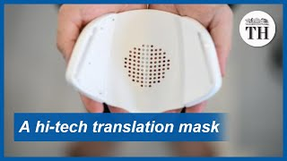 Hi-tech translation face mask
