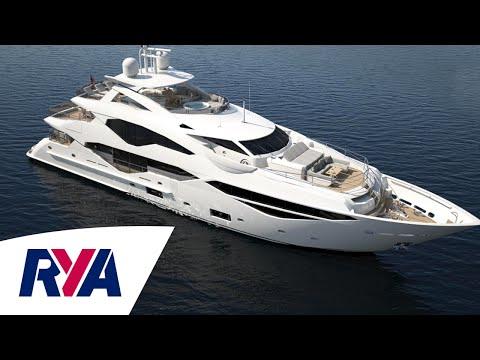 Sunseeker 131 Luxury Super Tri-Deck Yacht Boat Tour -  London Boat Show 2016