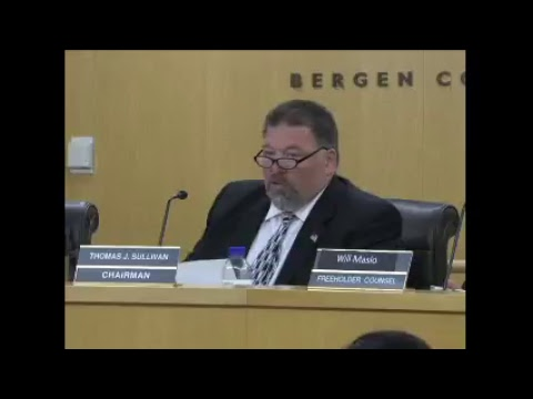 Bergen Freeholders Live Stream