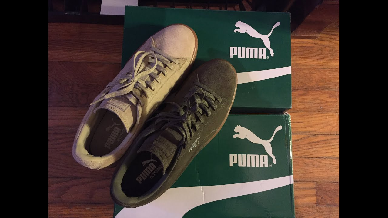 Puma Suede Beige Gum